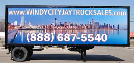 Trailer graphics available in Chicago
